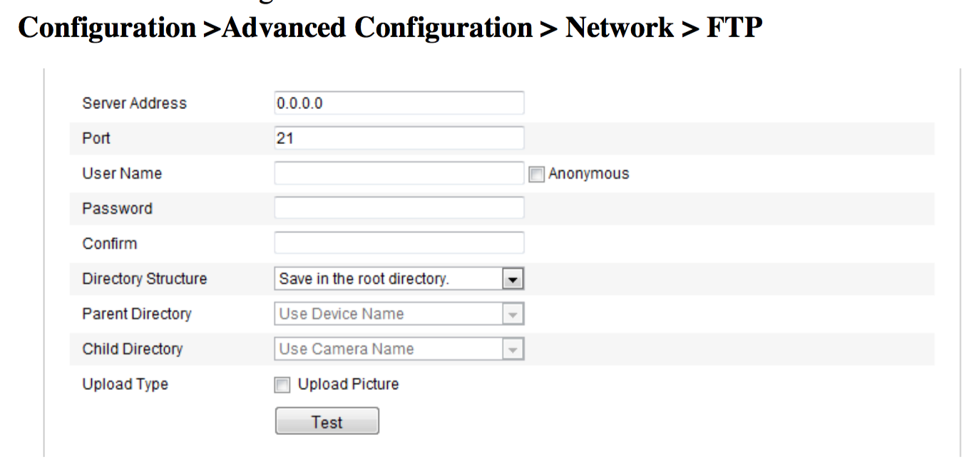 Hikvision FTP Server IP address leads to Zombie Apocalypse
